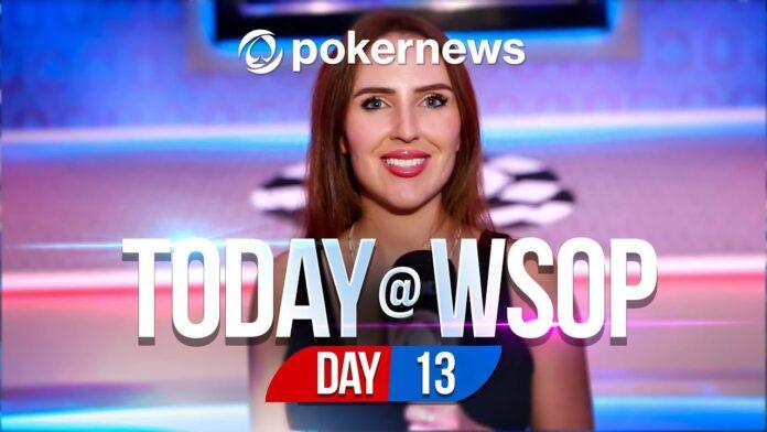 World Series Of Poker 2021 - Day 13 Update   Videos